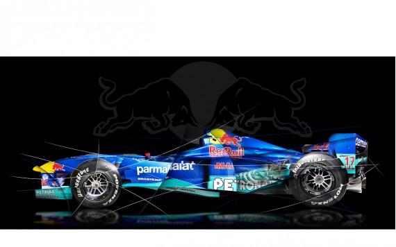 Photographie d'art Formule 1 SAUBER C16-04