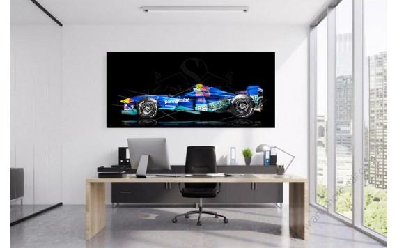 Art photography Formula 1 SAUBER C16-04