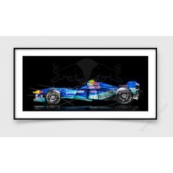 Tirage d'art Formule 1 SAUBER C16-04