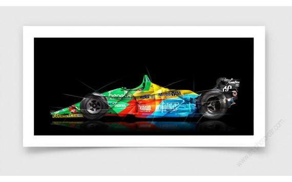 Tirage d'art Formule 1 BENETTON B188-01