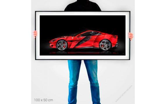 Tirage d'art Ferrari Portofino