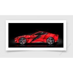 Fine Art Print Ferrari Portofino