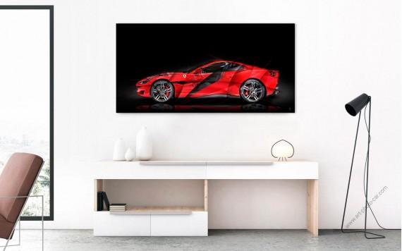 Photographie d'Art Ferrari Portofino