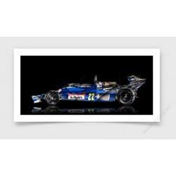 Tirage d'art Formule 1 Jacky Ickx ENSIGN N177