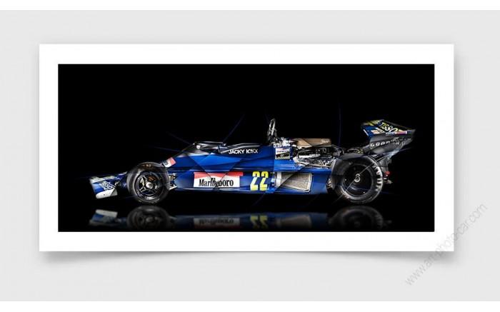 Tirage d'art Formule 1 ENSIGN N177