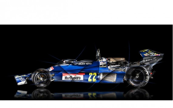 Art photography Formula 1 ENSIGN N177