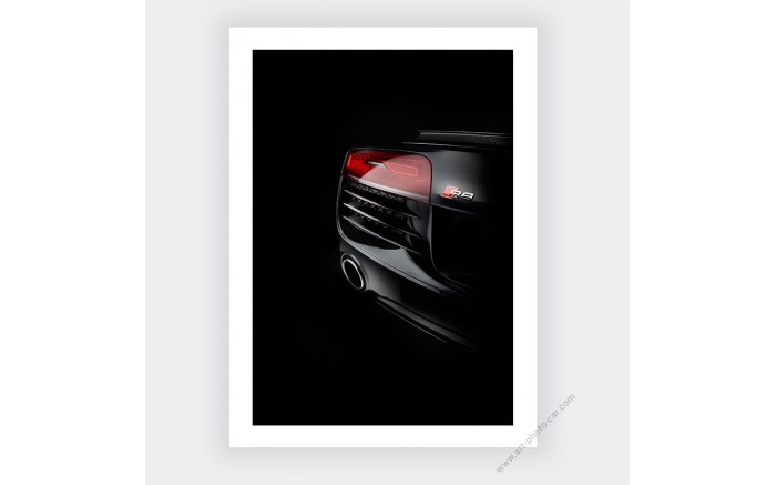 Audi R8 limited edition photo prints