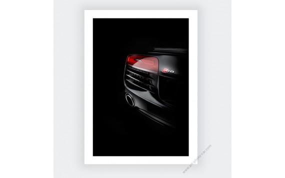Audi R8 Photo Numérotée