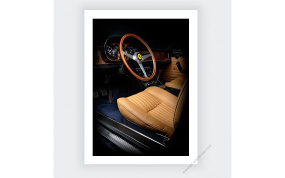 Ferrari 330 GTC III Photography Limited & Numbered