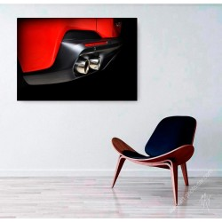 Ferrari Portofino limited print automotive art III
