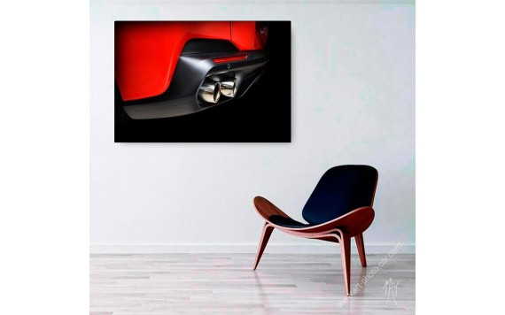 Ferrari Portofino limited print automotive art III