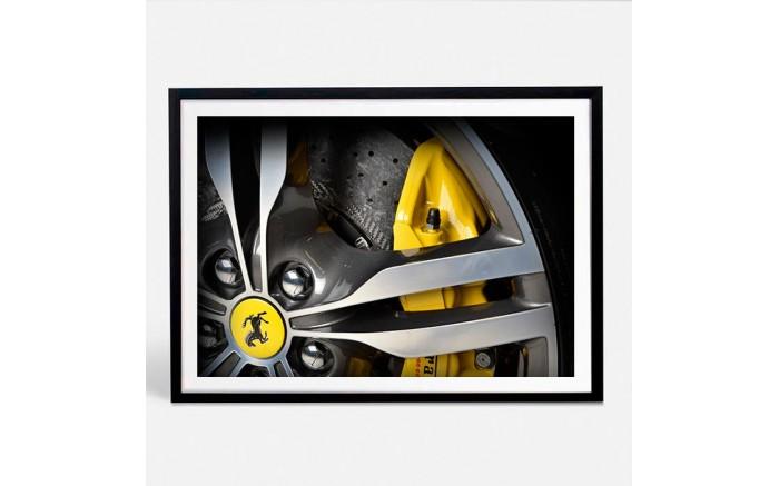Ferrari Portofino limited print automotive art V