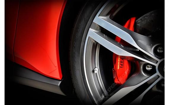 Ferrari Portofino limited edition automotive art VI