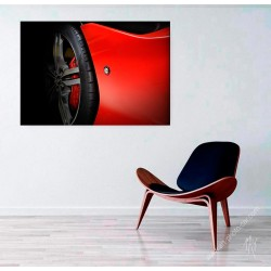 Ferrari Portofino limited print automotive art X