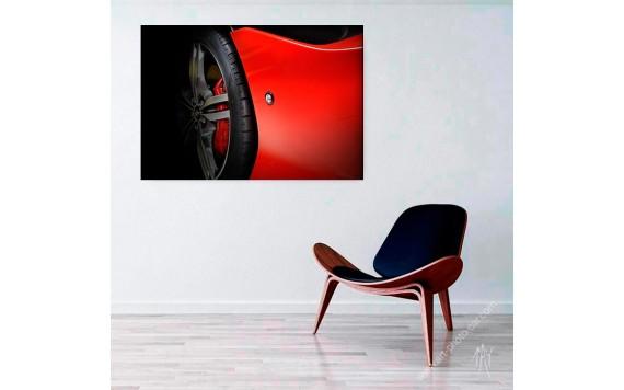 Ferrari Portofino limited print automotive art X