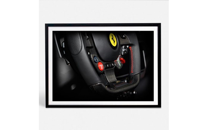 Ferrari Portofino limited photography automotive print X