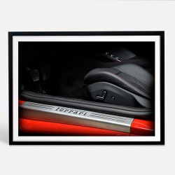 Ferrari Portofino limited photo automotive print XII