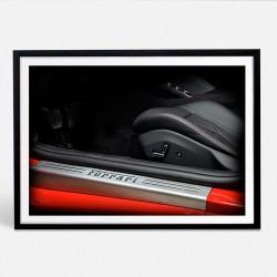 Ferrari Portofino limited photo automotive print XII