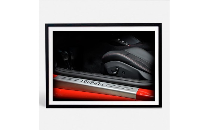 Ferrari Portofino limited photography automotive art XI