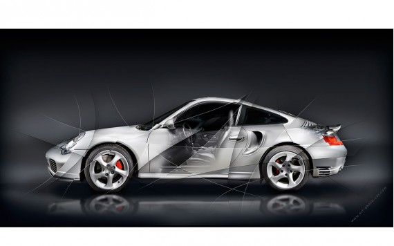 Porsche 911 Porsche 911 type 996 Turbo Fine Art Print