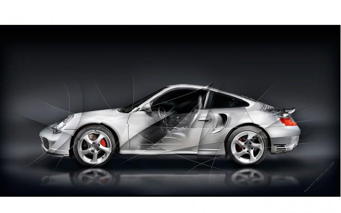 Tableau Porsche 911 type 996 Turbo