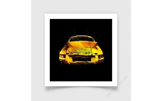 Tirage d'art Porsche 911 2.7 RS III Back