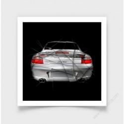 Fine Art Print Porsche 996 TURBO III