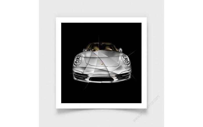 Fine Art Print Porsche 911 - 991 I