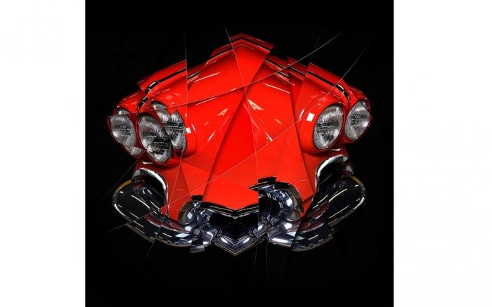 Corvette C1 photo d'art automobile