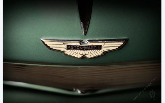 Aston Martin DB2 photo I encadrement