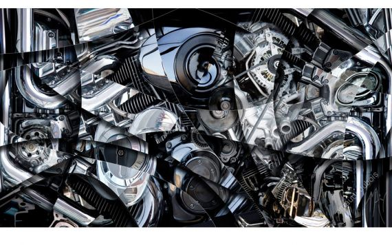 Engine, motor art photo - Signed & Limited Photography