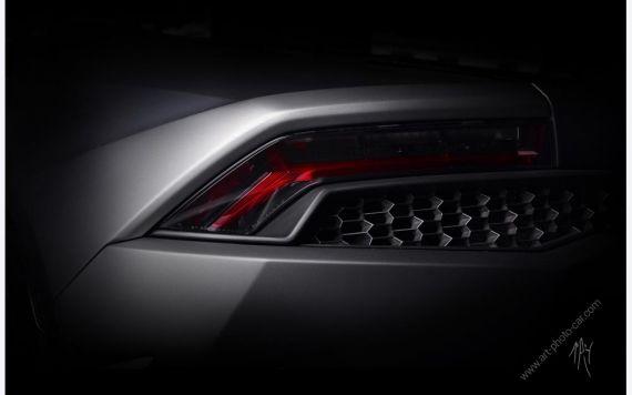 Lamborghini Huracan Grise photos