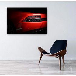 Lamborghini Huracan Grise rouge I