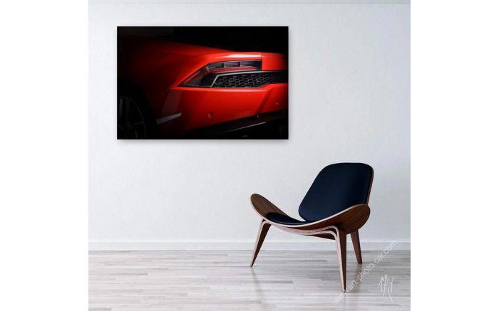 Lamborghini Huracan rouge photo I