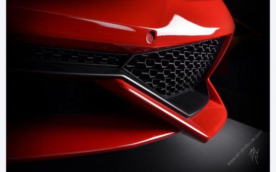 Lamborghini Huracan Red art