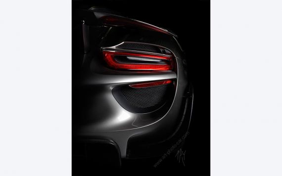 Porsche 918 Spyder photo I