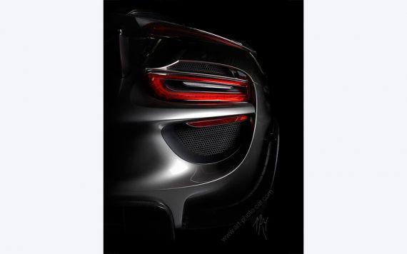 Porsche 918 Spyder Photo