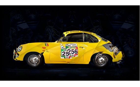 Porsche BT6 Coupe art photo
