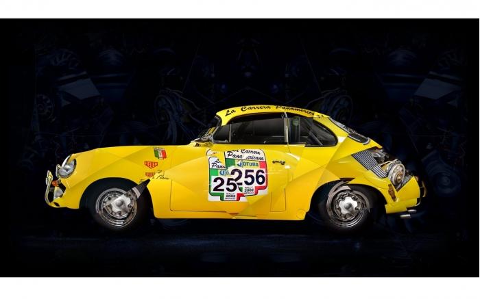 Porsche BT6 Coupe art photo