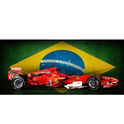 Formula 1 Felipe Massa Edition Ferrari Art Photo