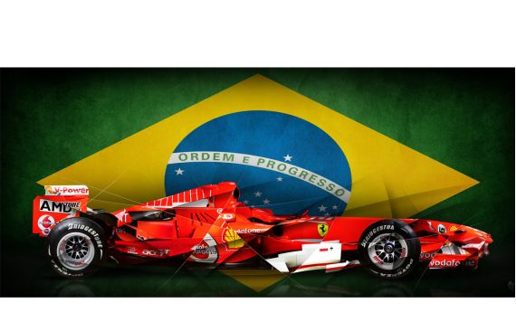 Formule 1 Ferrari Photo d'art