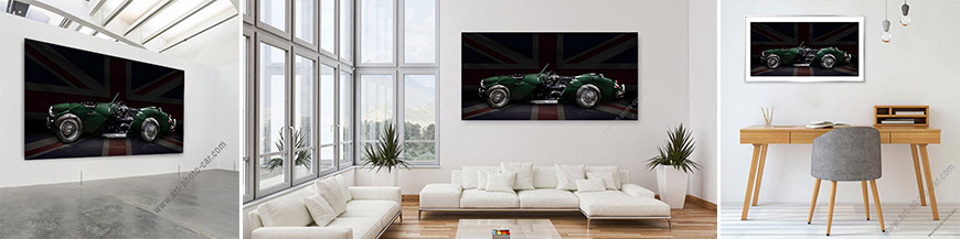 Austin Healey limited signed artwork fine art print