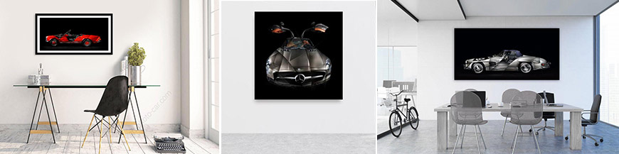 Mercedes Automotive artwork fine art print signed and limited