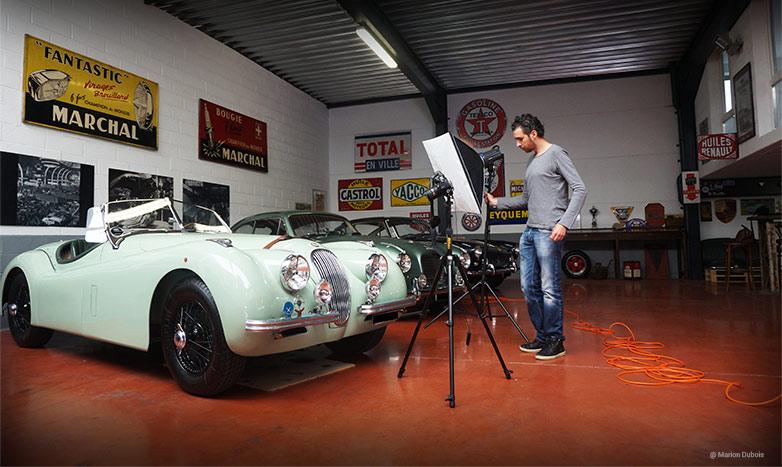artiste photographe automobile