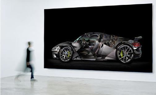 Porsche 918 photographie