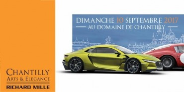 Exposition au salon auto Chantilly Arts & Élégance 9 et 10 septembre 2017
