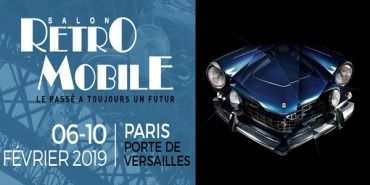 Exhibition at Retromobile Autoshow 2019