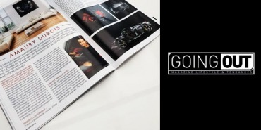 Interview with Amaury Dubois in Going Out magazine