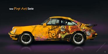 LAUNCH OF THE AUTOMOBILE POP ART SERIE
