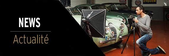 Actualité photographie d'art automobile